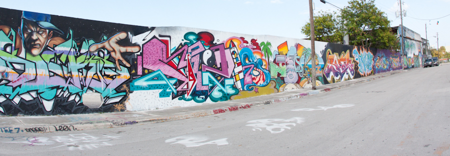 Miami Graffiti Walls