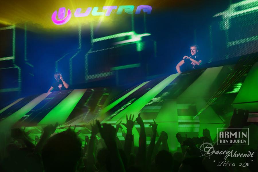 Armin Van Buuren - Ultra Music Festival - Photographer Tracey Ahrendt