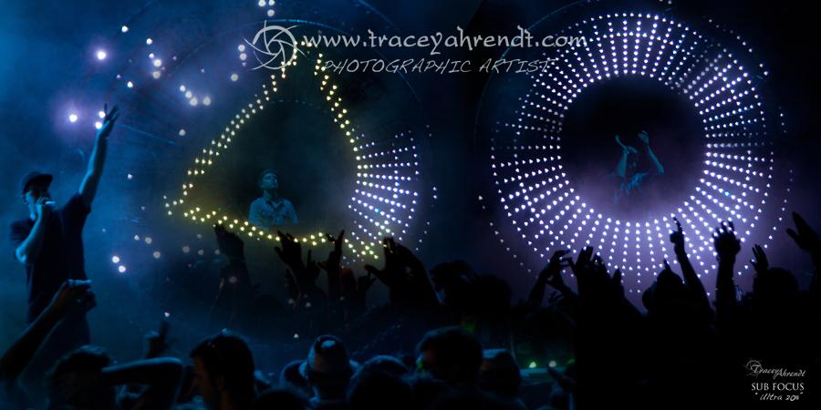 Sub Focus live at Ultra Music Festival
