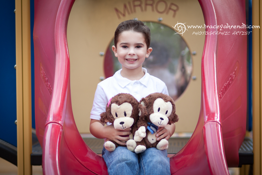 Lil Joey's will be bringing his lil sister a monkey when they met