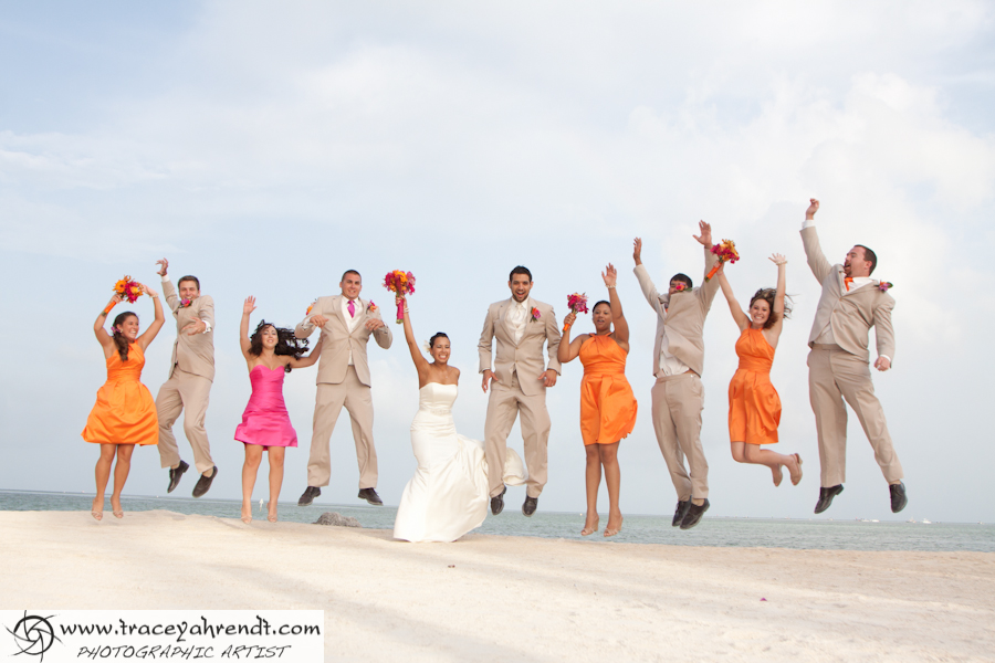 What a fun Bridal Party