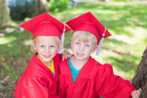 Children Graduate Portraits